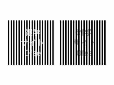 目の錯覚画像9no2