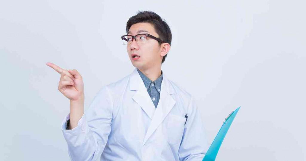 指示する医者