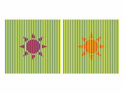 目の錯覚画像10