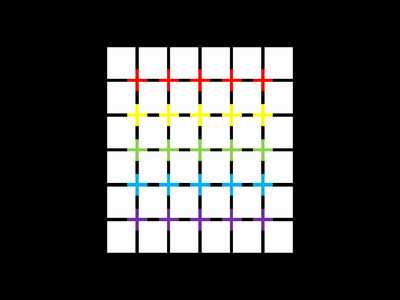 目の錯覚画像21